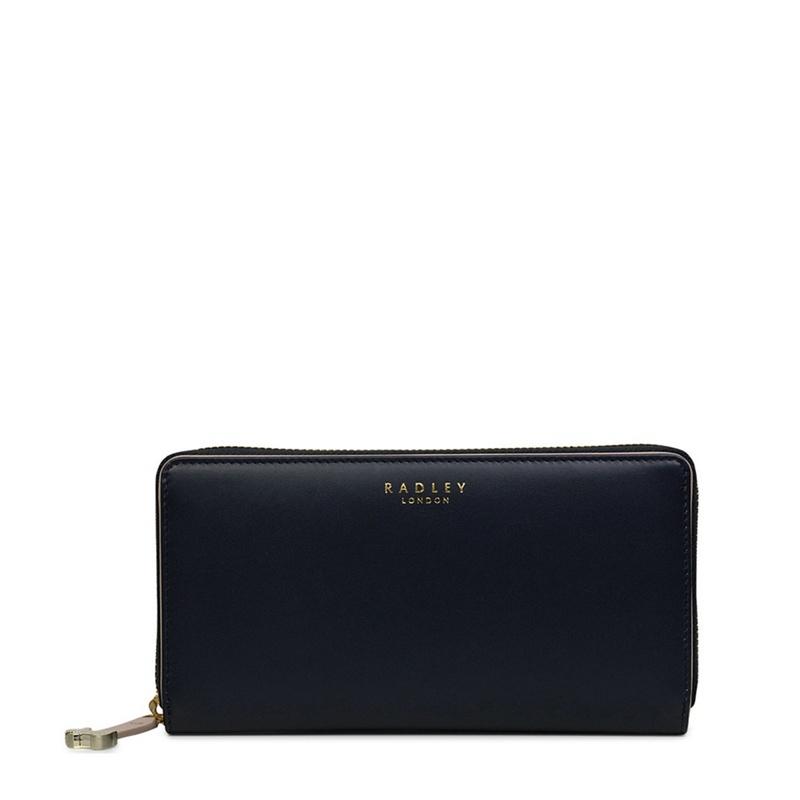 Radley Large leather 'arlington street' purse - One Size - Purses - navy (8666055 11873) photo