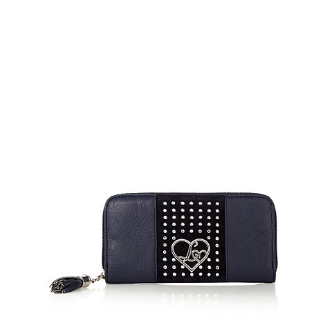 Lipsy - Navy diamante embellished purse