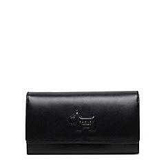 Radley - Large leather 'profile dog' flap over matinee purse