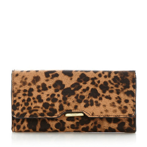 Fiorelli - Brown large leopard flap over purse