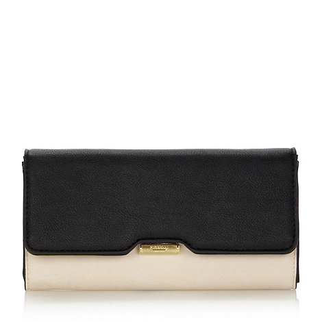Fiorelli - Black large colour block purse