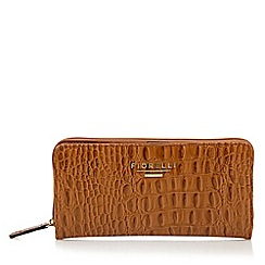 Fiorelli - Tan mock croc purse