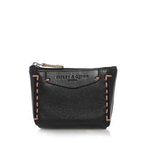 Bailey & Quinn - Black +Hampton Court+ coin purse