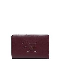 Radley - Medium leather 'Radley Shadow' zip top purse