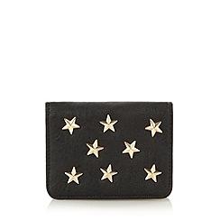 Red Herring - Black star card holder