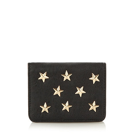 Red Herring - Black star card holder