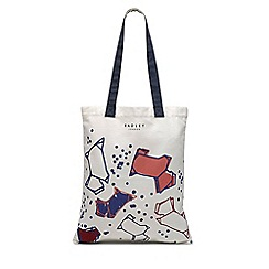 Radley - Natural speckle dog medium tote bag