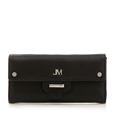 Star by Julien Macdonald - Designer black tab detail purse
