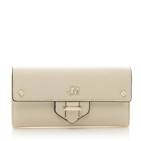 Star by Julien Macdonald - Designer cream tab detail purse