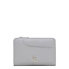 Radley - Medium light grey leather 'Pockets' purse