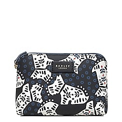 Radley - Small black 'Folk Dog' pouch