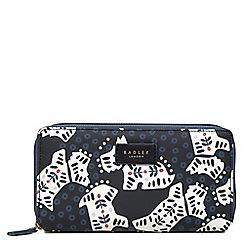 Radley - Large black 'Folk Dog' matinee purse