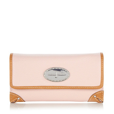 J by Jasper Conran - Designer light pink corner trim purse