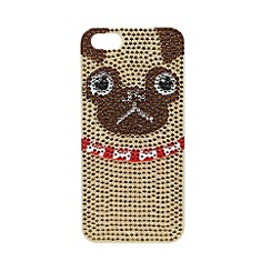 Skinnydip - Rhinestone pug iPhone 5/5s case