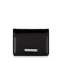 Star by Julien Macdonald - Designer black fold over card holder