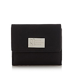 Betty Jackson.Black - Designer black medium pebble grain purse