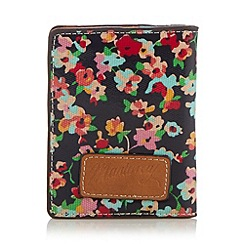 Mantaray - Navy floral card holder