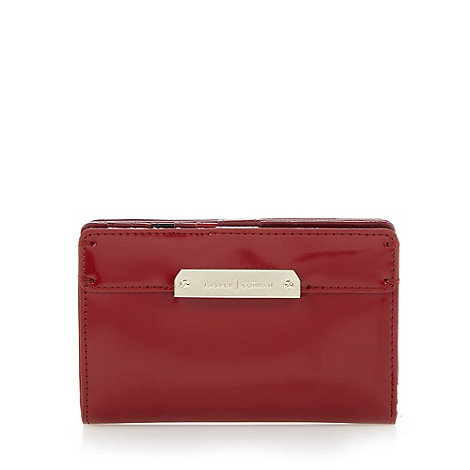 J by Jasper Conran - Designer red medium branded tab detail purse