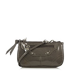Red Herring - Metallic mini cross body bag