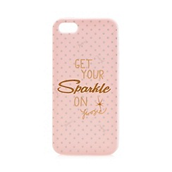 Floozie by Frost French - Light pink 'Sparkle' iPhone 5/5S cover