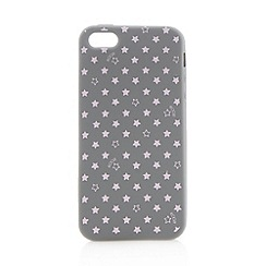 Floozie by Frost French - Grey star printed iPhone 5/5S cover