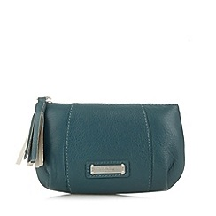Bailey & Quinn - Turquoise leather pleat front coin purse