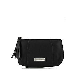 Bailey & Quinn - Black leather panel coin purse
