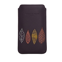 Bailey & Quinn - Purple 'Alyssum' leather phone case