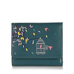 Bailey & Quinn - Dark turquoise birdcage small purse
