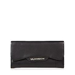 RJR.John Rocha - Designer black leather curved flap over purse