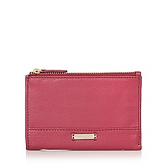 Bailey & Quinn - Dark pink 'Posy' double zip purse