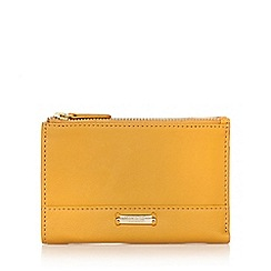 Bailey & Quinn - Mustard 'Posy' double zip purse
