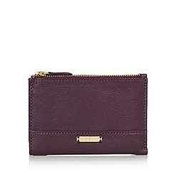 Bailey & Quinn - Purple 'Posy' double zip purse