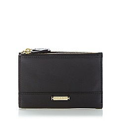 Bailey & Quinn - Black 'Posy' double zip purse