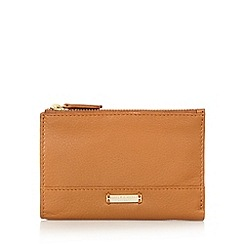 Bailey & Quinn - Tan 'Posy' double zip purse