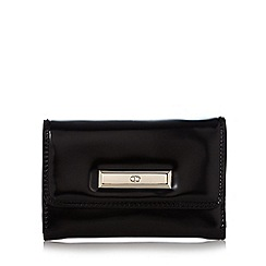 The Collection - Black patent bar purse