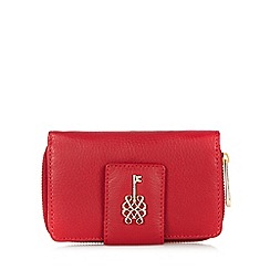 Bailey & Quinn - Red leather key stud purse