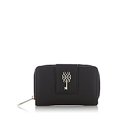 Bailey & Quinn - Black leather key stud purse