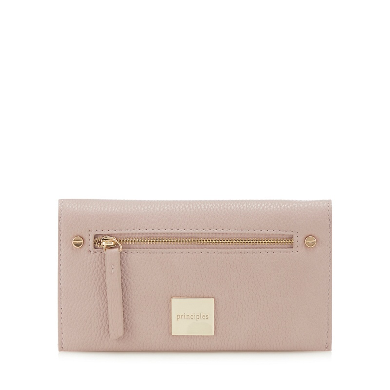 Principles Light pink zip front large purse - One Size - Purses (8809009 5045479063793) photo