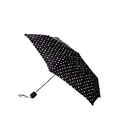 The Collection - Black spotted umbrella