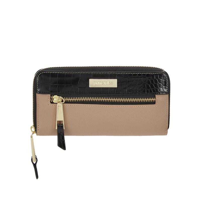 Principles Camel colour block large purse - One Size - Purses (8796041 5045478934117) photo