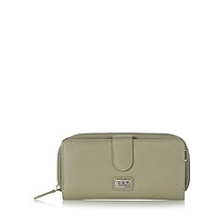 O.S.P OSPREY - Grey mock croc large purse