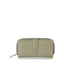 O.S.P OSPREY - Grey mock croc large purse