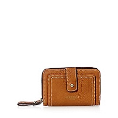 Fiorelli - Tan stitched panel medium purse