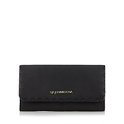 RJR.John Rocha - Designer black leather weave large purse