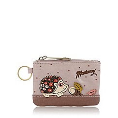 Mantaray - Pale pink hedgehog coin purse