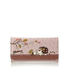 Mantaray - Pink hedgehog large purse