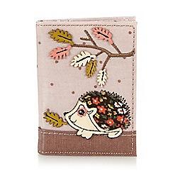 Mantaray - Pink hedgehog card holder