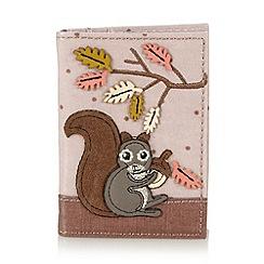 Mantaray - Pink squirrel card holder