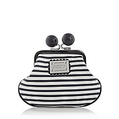 Floozie by Frost French - White striped coin purse